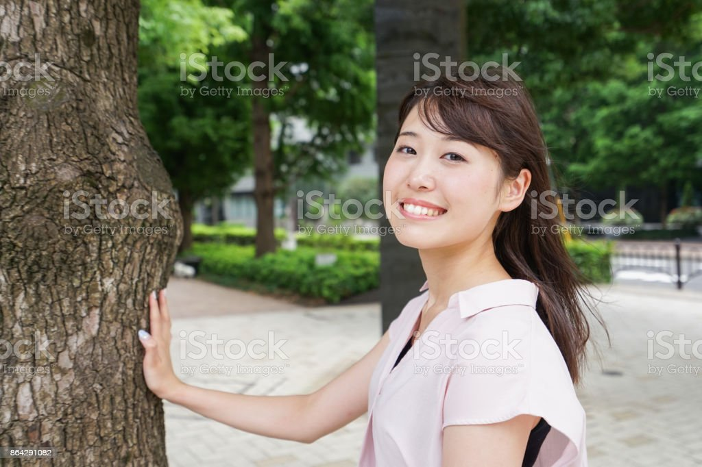 Young woman urban image royalty-free stock photo