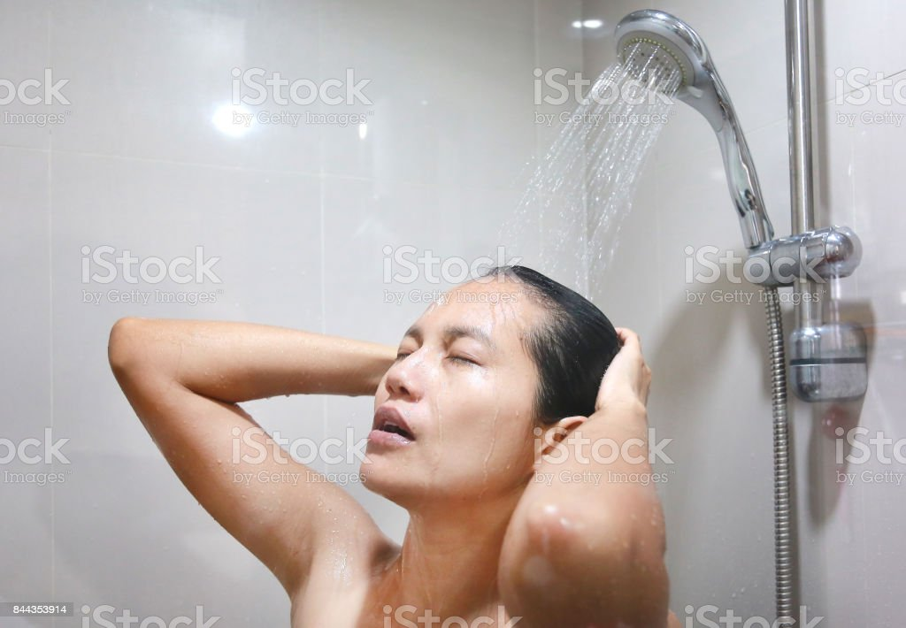 young in shower too tight for big dick