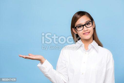 933380808istockphoto Young woman wearing eyeglasses. 933347426