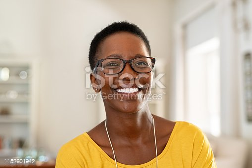 istock Young woman wearing spectacles 1152601942