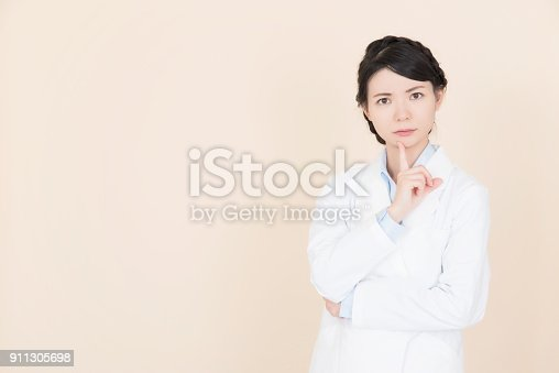 istock Young woman who is troubled 911305698