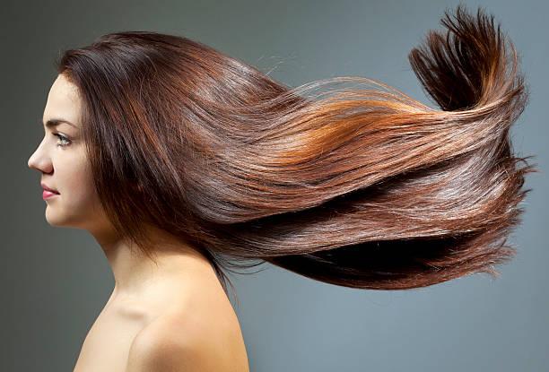 若い女性、美しいヘア - 人の髪 ストックフォトと画像