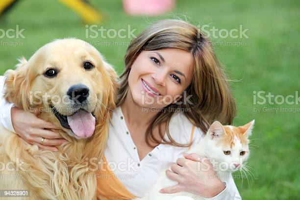 Young woman with dog and cat picture id94328901?b=1&k=6&m=94328901&s=612x612&h=a08nd595qalsnx5rjejrdhd qrzaxtcta4iebtfwzv4=
