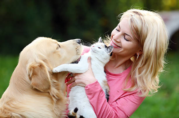 Young woman with her pets picture id94329222?b=1&k=6&m=94329222&s=612x612&w=0&h=aqxuo7pgshwf6ulhkocab27dttgrfigbe2ww0drszwa=