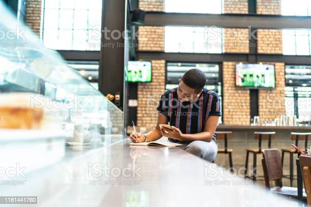 Young woman working and copying information at restaurant picture id1161441760?b=1&k=6&m=1161441760&s=612x612&h=uoyauauxx9okqix7rjoynw7p9gqwp 6oiuleoq6izy4=