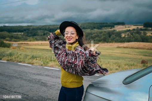 1131372580 istock photo Young women on a road trip 1044197720