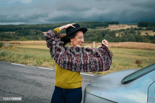 1131372580 istock photo Young women on a road trip 1044199996