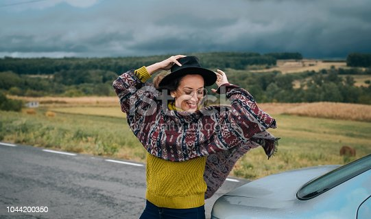 1131372580 istock photo Young women on a road trip 1044200350