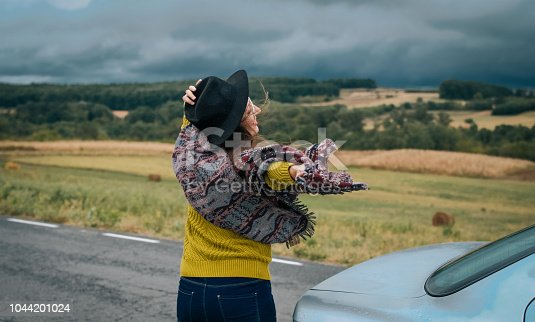 1131372580 istock photo Young women on a road trip 1044201024