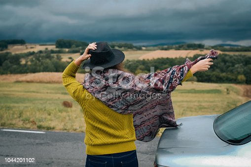 1131372580 istock photo Young women on a road trip 1044201102