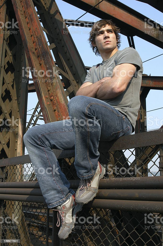 Young Worker royalty-free stock photo
