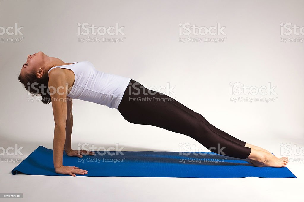 young yogi girl royalty-free stock photo