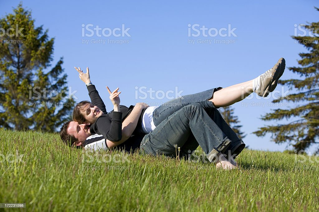 younge couple royalty-free stock photo