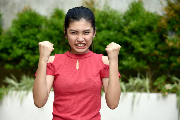 A Youngster And Anger A person in an outdoor setting antagonize stock pictures, royalty-free photos & images