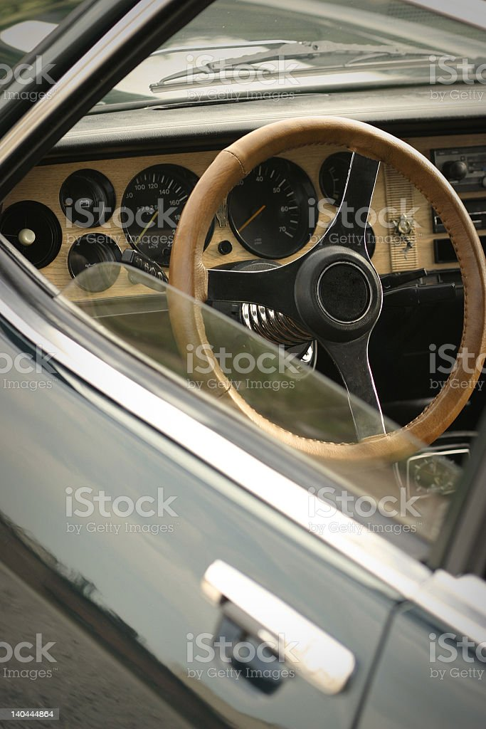 youngtimer stock photo
