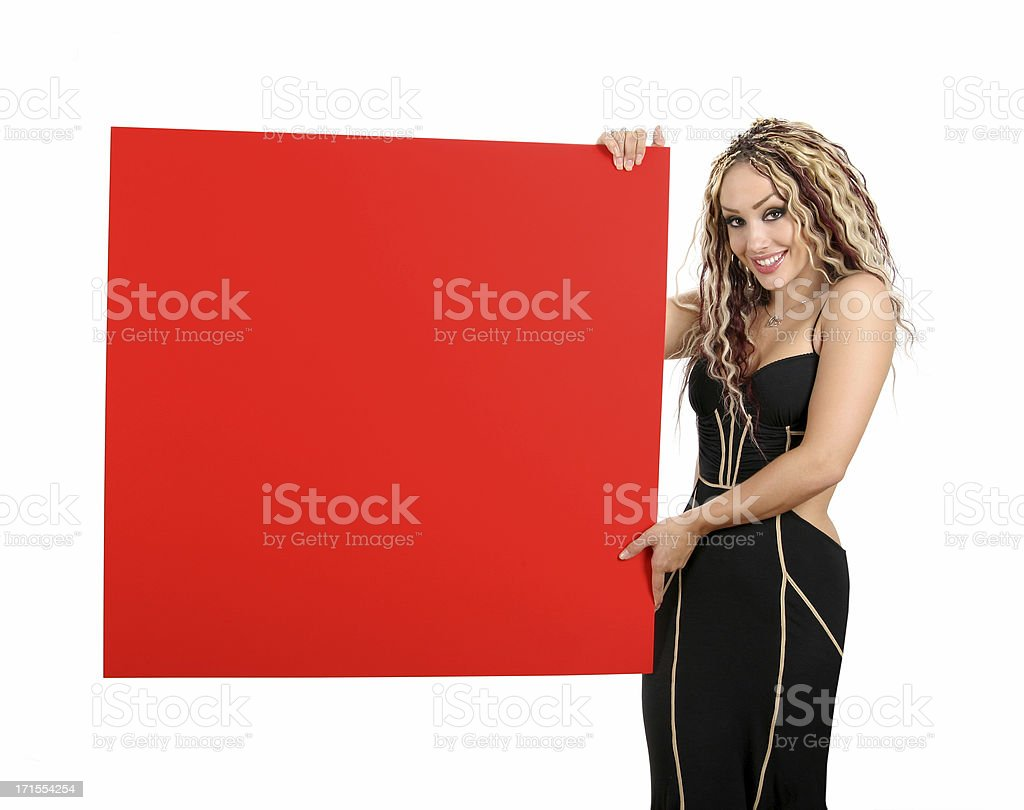 Your Ad Goes Here! B1 royalty-free stock photo