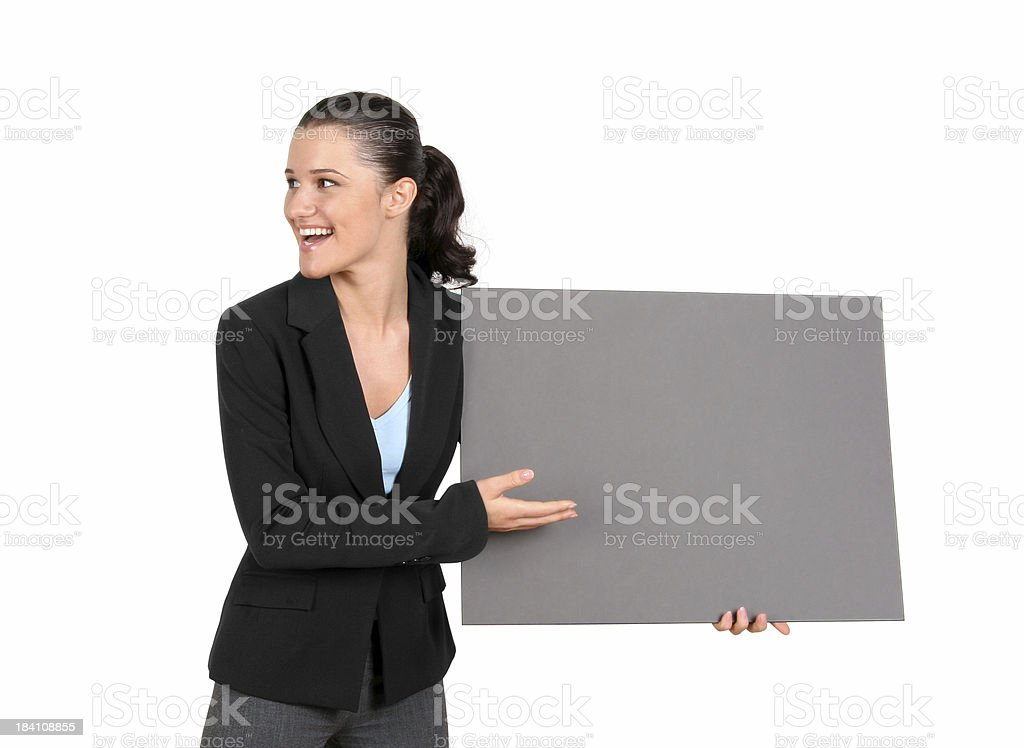 Your Ad Goes Here! K3 royalty-free stock photo