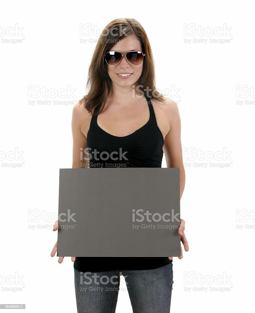 Your Ad Goes Here! - Rozana 01 royalty-free stock photo