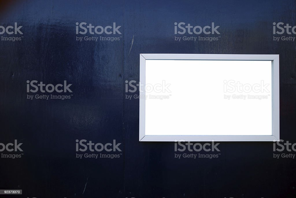 Your ad here royalty-free stock photo