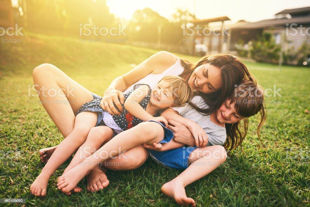 Uw genegenheid vormen hun geluk voor het leven foto