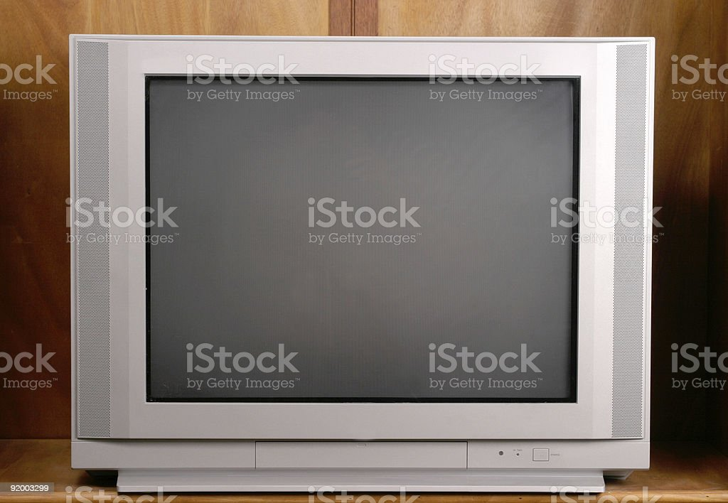 Your Basic Flat Screen Television stock photo