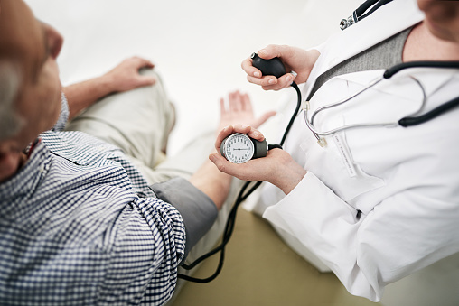 Your Blood Pressure Is A Little High Stock Photo - Download Image Now