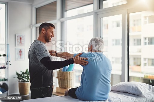 istock Your body seems to be recovering well 1049207186