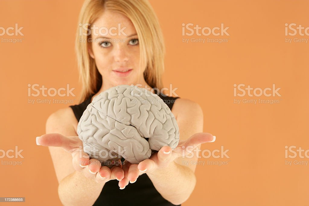 Your Brain royalty-free stock photo