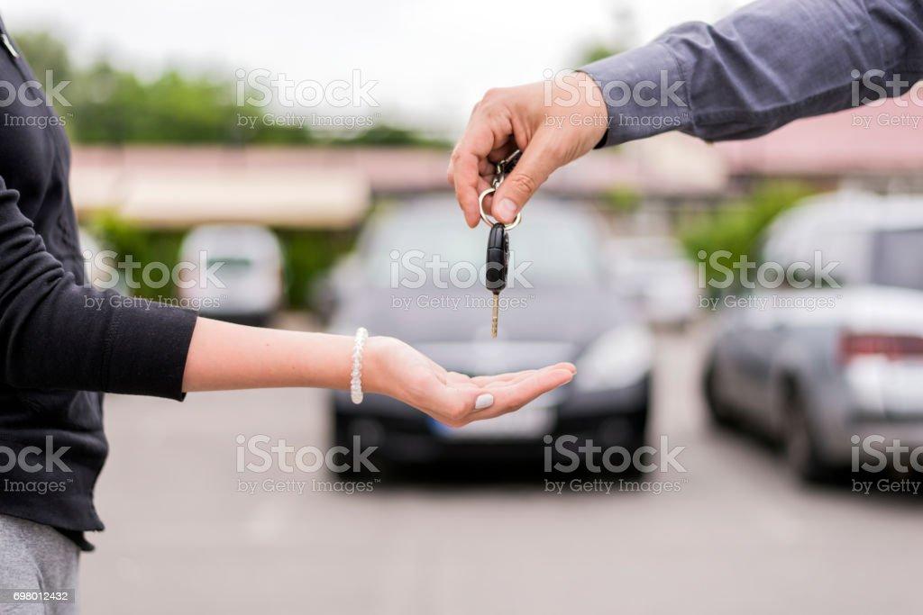 Ihr neues Auto wartet auf Sie – Foto