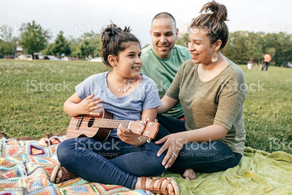 Your child's talents stock photo