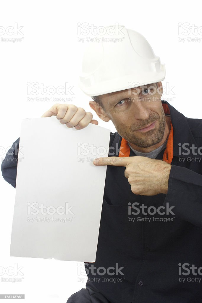 your construction checklist royalty-free stock photo