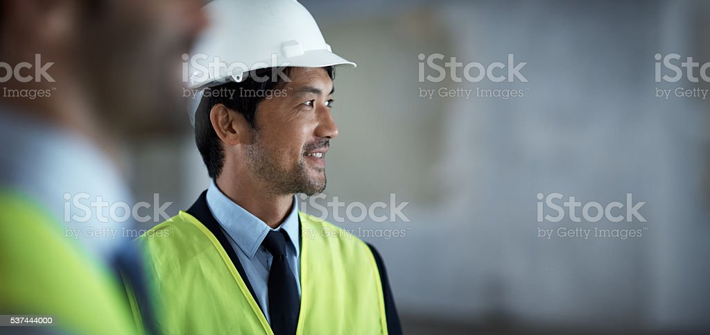 Your dream team constructing your dream building stock photo