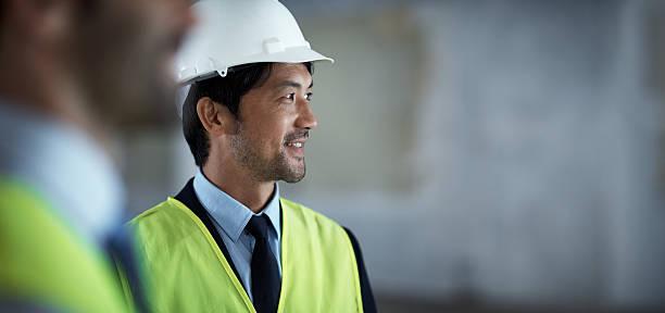 夢のようなチームが、お客様の夢のビルの建設 - 建設作業員 ストックフォトと画像