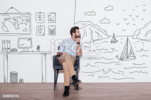 istock Your dreams can send you far away. 508839754