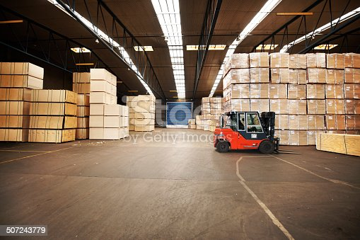 istock Your goods will be in a safe place 507243779