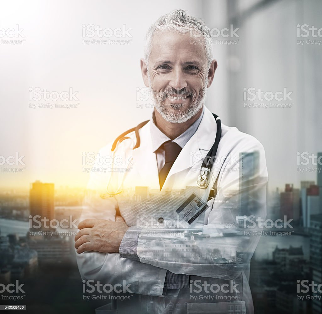 Your health is my happiness stock photo