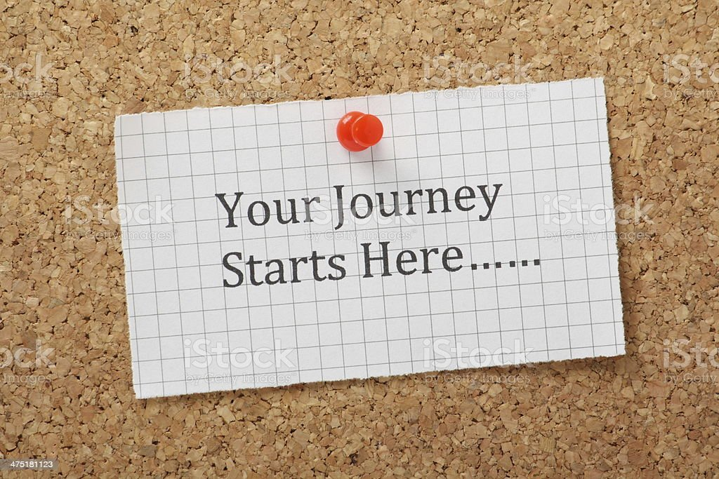 Your Journey stock photo