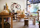 の地元のコーヒーショップ
