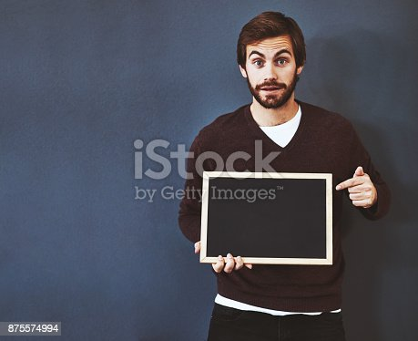 istock Your message would make an impact over here 875574994