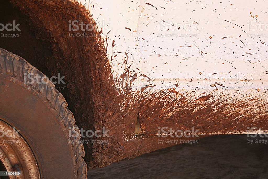 Your Name Here, Muddy Rover stock photo