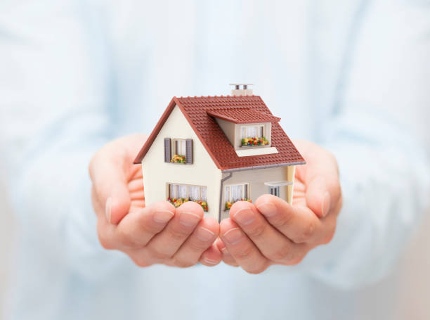 Your new house stock photo