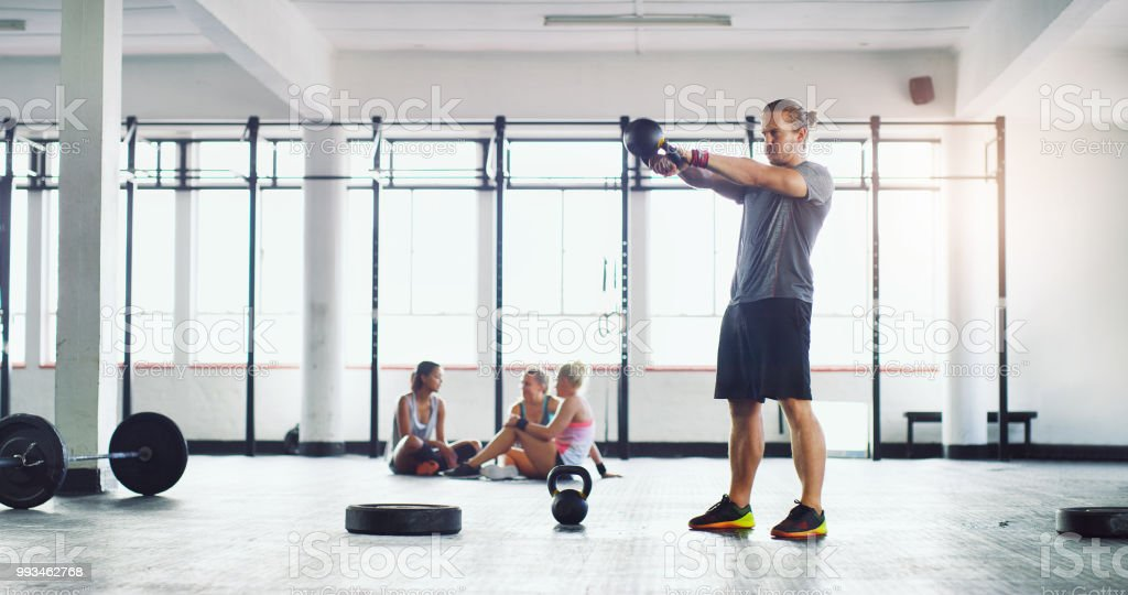 Your only competition is you to get fit stock photo