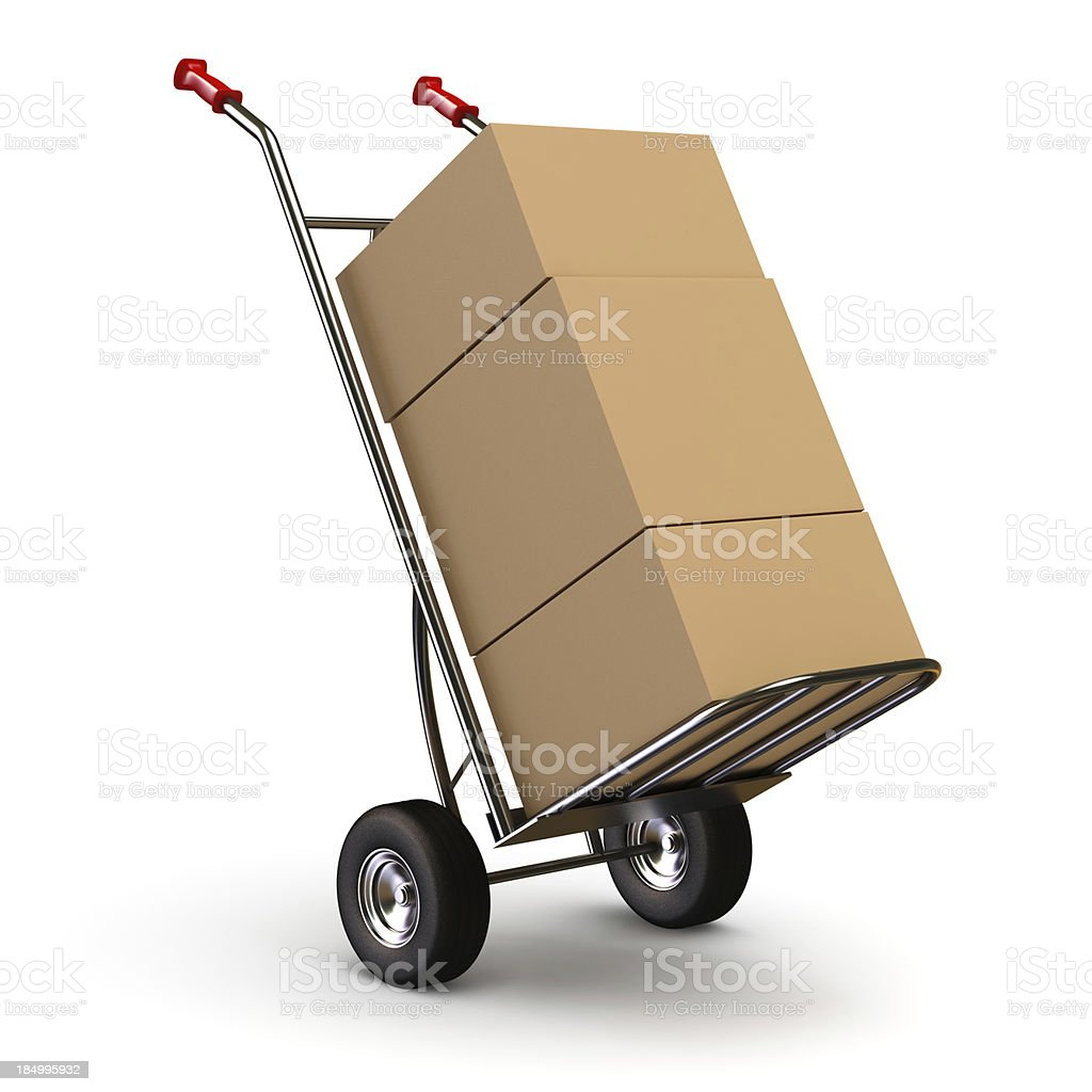 Your Order has arrived stock photo