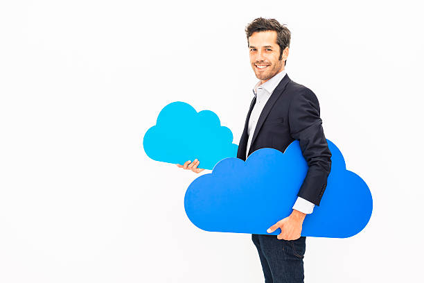 Your own cloud stock photo