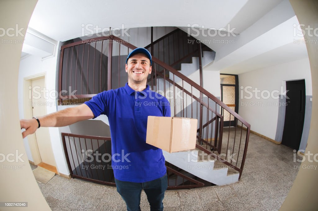 Your Package Has Arrived stock photo