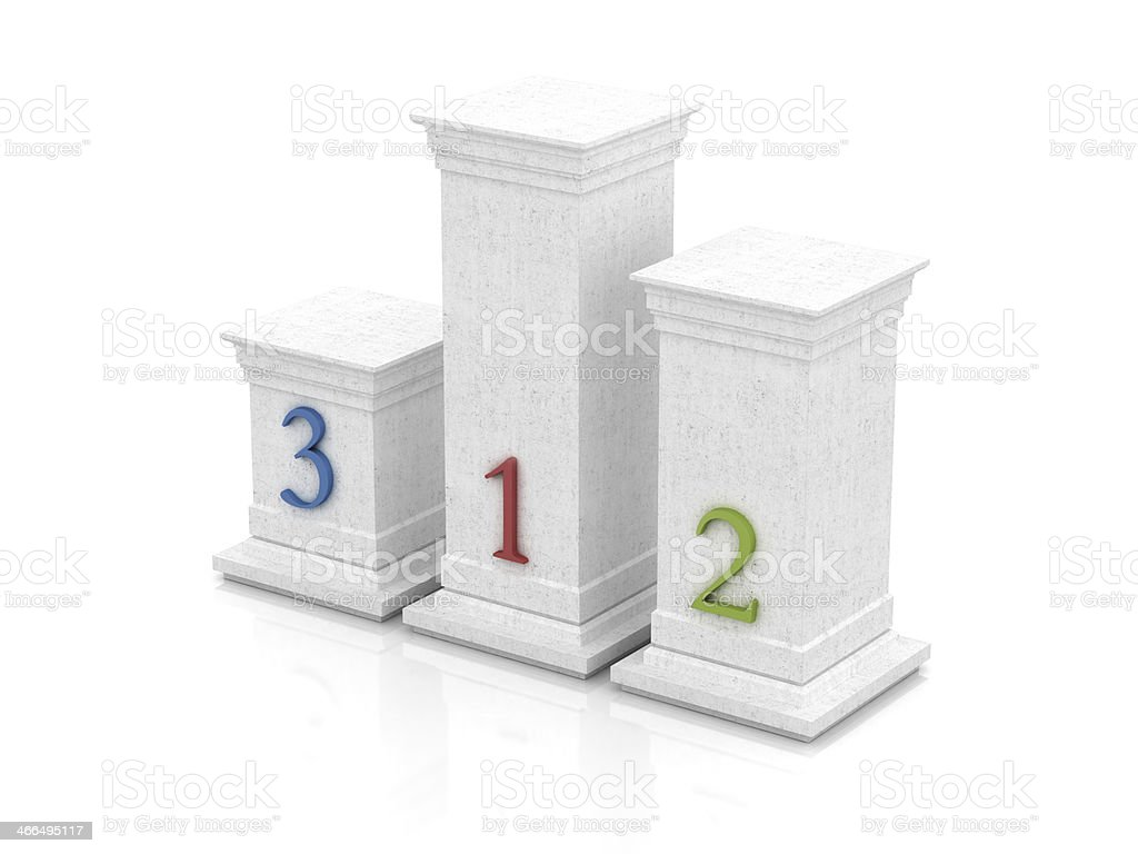 Your personal podium royalty-free stock photo