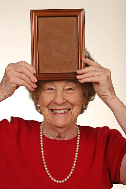 Funny Old Grandma Granny Pics Stock Photos, Pictures