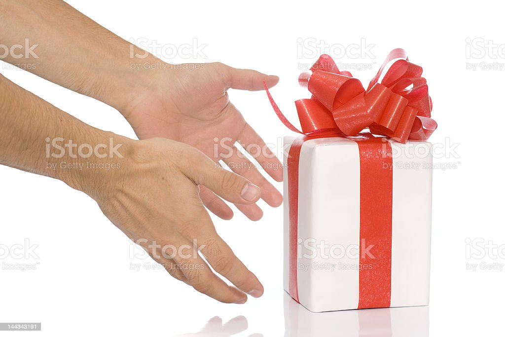 Your present royalty-free stock photo