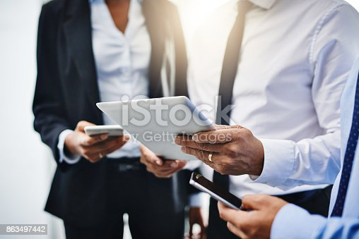 863497390 istock photo Your success depends on how reachable you are 863497442