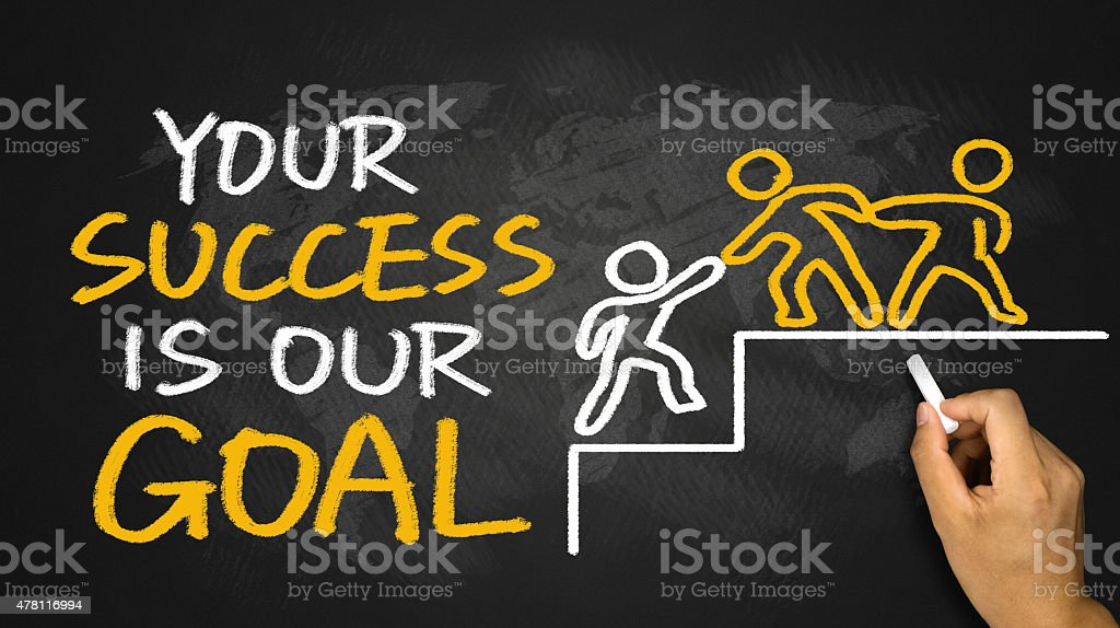Your Success Is Our Goal Stock Photo Amp More Pictures Of